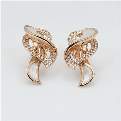 Shell Diamond Earring ALER1478