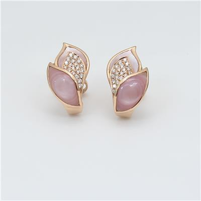 Shell Diamond Earring ALER1486