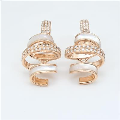 Shell Diamond Earring ALER1602
