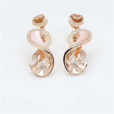 Shell Diamond Earring ALER1648