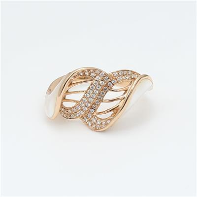 Shell Diamond Ring ALR1479
