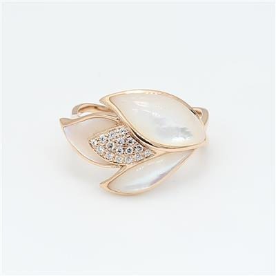 Shell Diamond Ring ALR1487