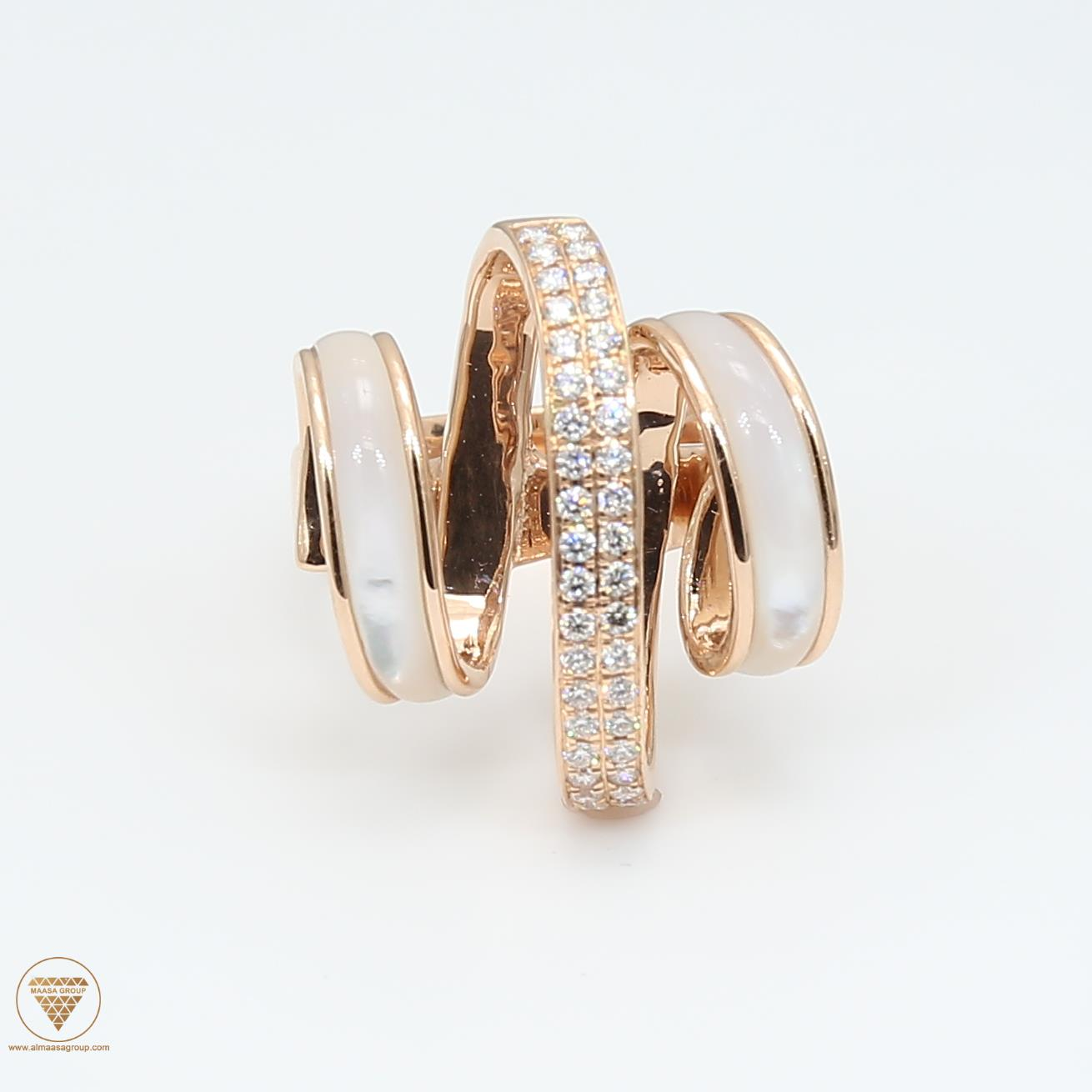 Shell Diamond Ring ALR1603